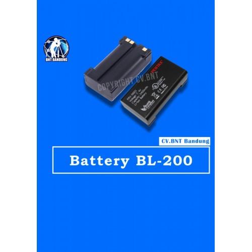 Battery BL 200 GPS pentax 500x500 1