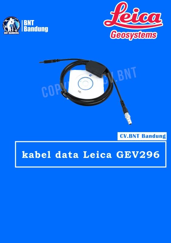 kabel data Leica GEV296